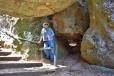 At Hanging Rock