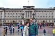 Connie & Graeme at Buckingham Palace