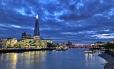 London Skyline after dark