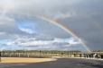 Double Rainbow near Stonhenge