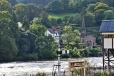 Railway Station and The River Dee
