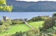 Urcquhart Castle on Loch Ness