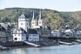 Rhine church & village