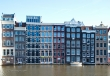 Typical Amsterdam canal buildings
