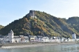 Rhine castle & village