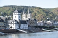 Rhine church & village