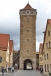 Rothenburg city wall tower