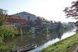 Bamberg - Linker Regnitzam river