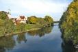 Regensburg - Danube River parkland