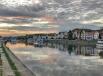 Regensburg - Danube River Sunset