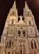 Regensburg - St Peter's Cathedral floodlit