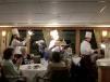 Last dinner on ship