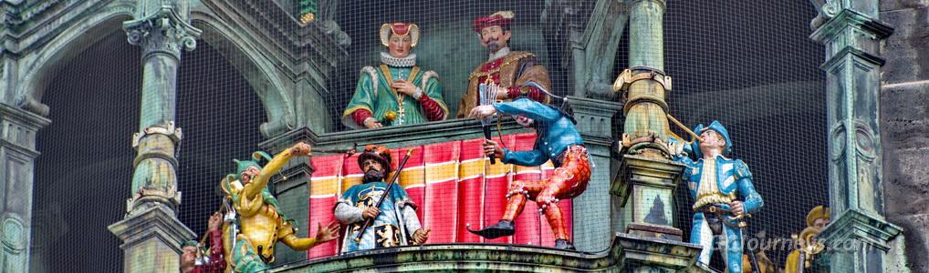 Munich Town Hall Glockenspiel