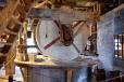 Inside a Zaanse Schans Windmill