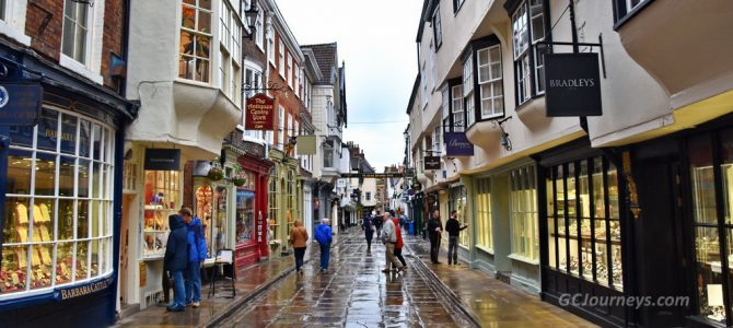 Chester & York, England