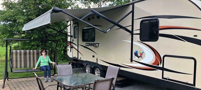 RV Trip: Hampton VA, Cherokee NC, Gile WI